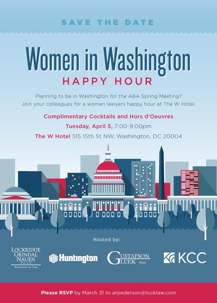 Women in Washington Happy Hour