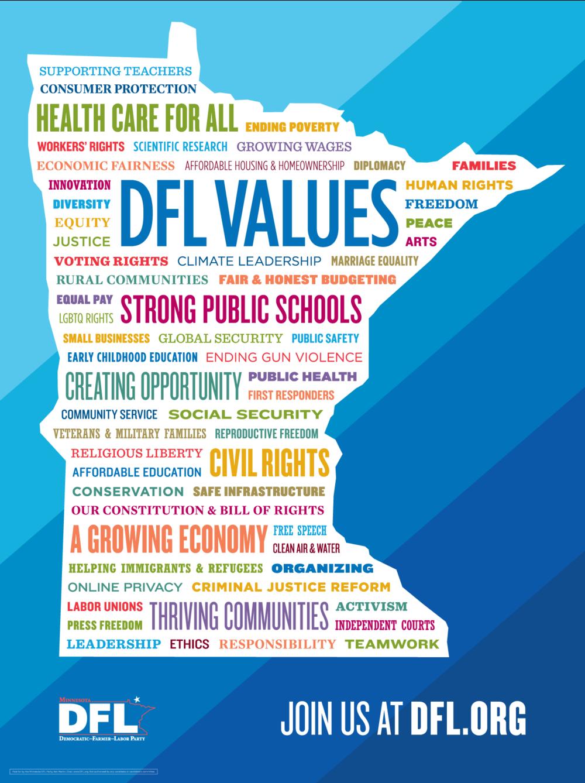 DFL Values Poster