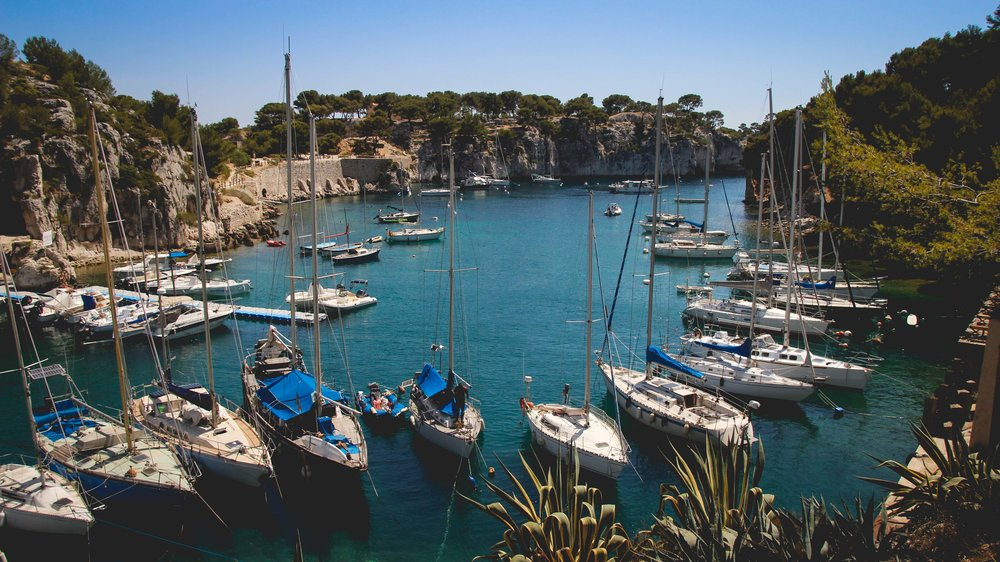 Calanques in Cassis France