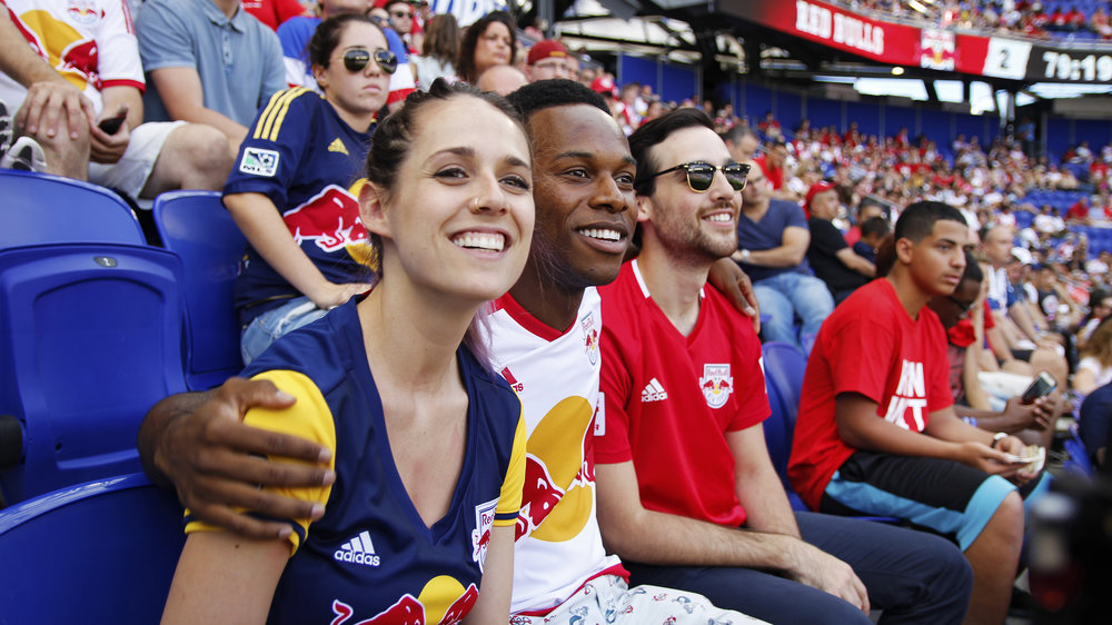 SeatGeek red bull arena new york commercial shoot