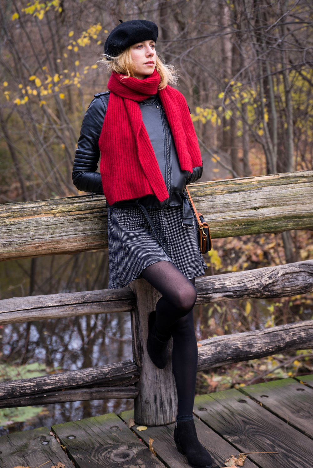 tori ratermanis fashion photograph in prospect park brooklyn new york