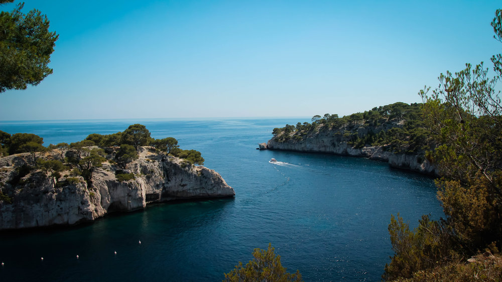 calanques in cassis france  shot by robert ravenscroft new york photographer