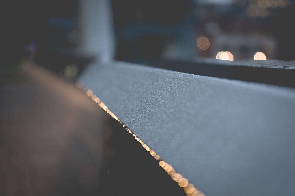 rainy lights shot in new york by robert ravenscroft