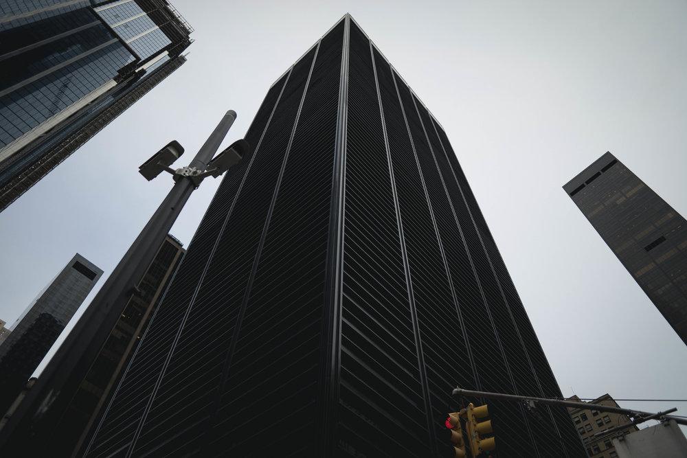 Manhattan buildings fine art photograph by robert ravenscroft nyc photographer