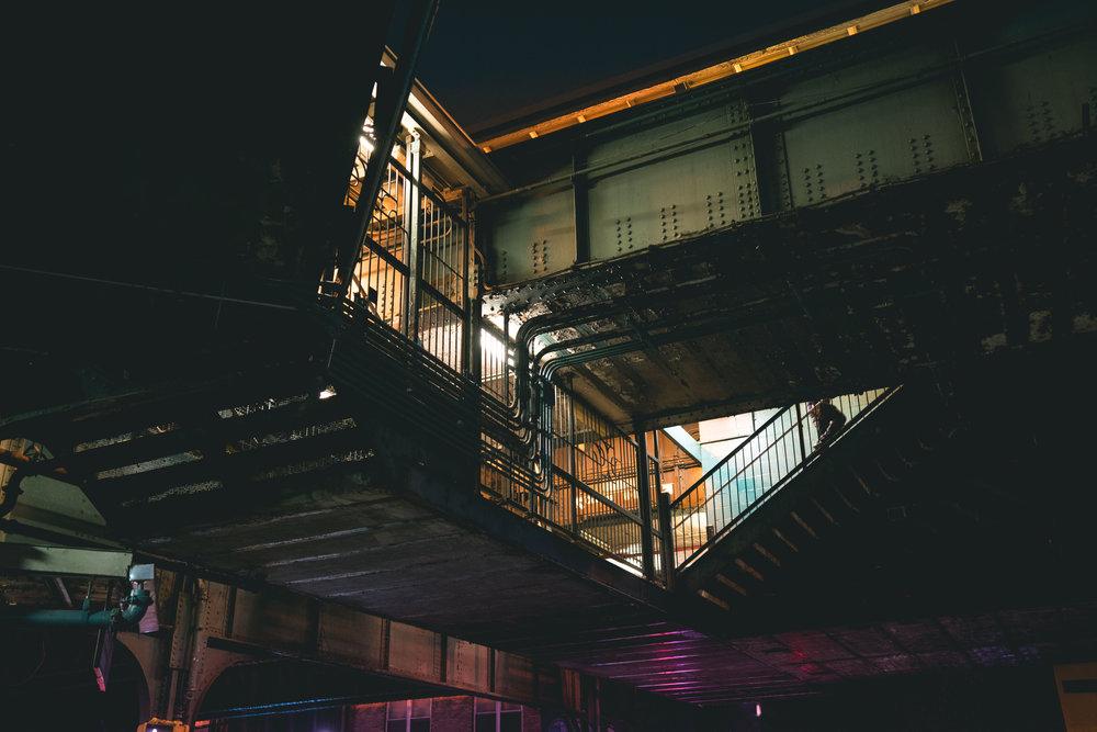 Brooklyn night fine art Photograph shot by robert ravenscroft an nyc and austin photographer
