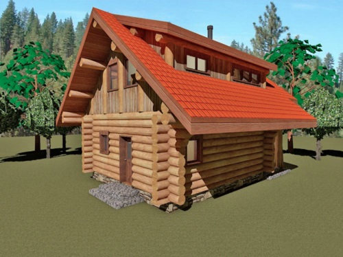 Log-Home-Made-In-Ontario-Canada-2-storey Design-Facing-Back-And-Right-Side-Of-House-The-Riverside-Cabin.jpg