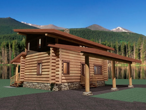 Log-Home-Made-In-Ontario-Canada-2-storey Design-Facing-Side-And-Back-Of-House-The-Amarok-Cabin-Round-Log-Option.jpg