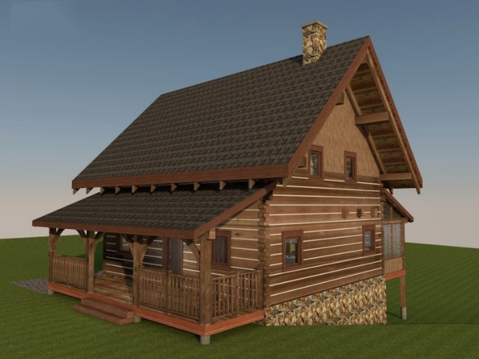 Log-Home-Built-In-Ontario-Canada-2-storey-Design-Facing-Front-And-Side-Of-House-With-Split-level-Basement-The-Sturgeon-Cabin-Square-Timber-Option.jpg