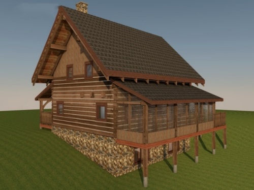 Log-Home-Built-In-Ontario-Canada-2-storey-Design-Facing-Side-And-Back-Of-House-The- Sturgeon -Cabin-Square-Timber-Option.jpg
