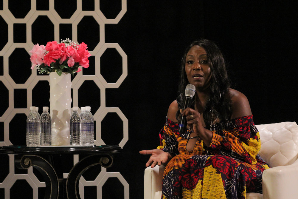 NATALYN RANDLE - CEO AND FOUNDER OF BLACK BUSINESS WOMEN ROCK  Photo by Jahsaudi Perkins