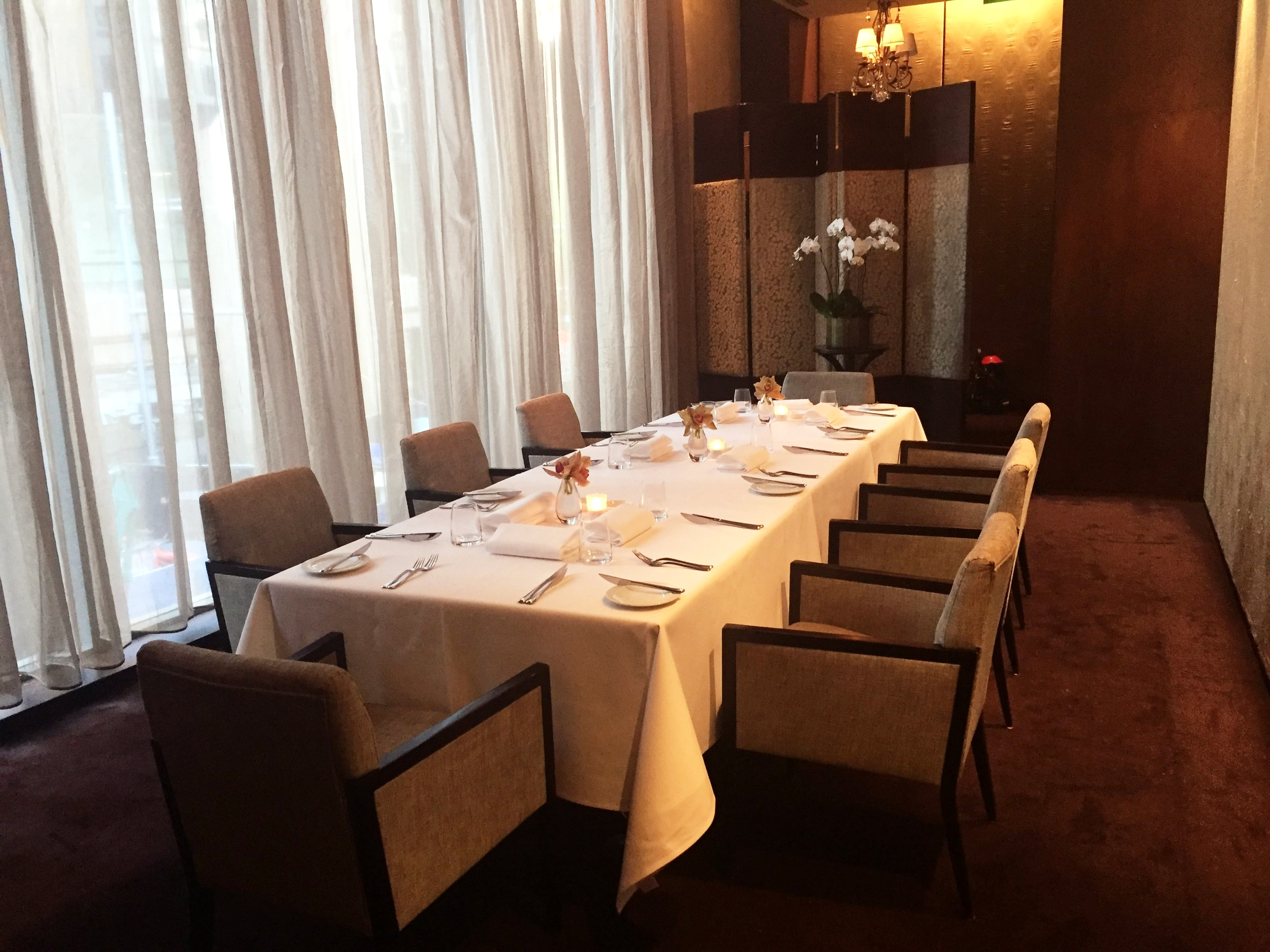 PRIVATE DINING ROOM | Elegant Dining At Its Best: Great Service, Food