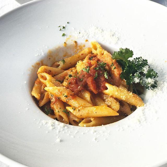 Pasta in vodka sauce #thatsall #pastaheaven #foodstagram #lakemaggiore