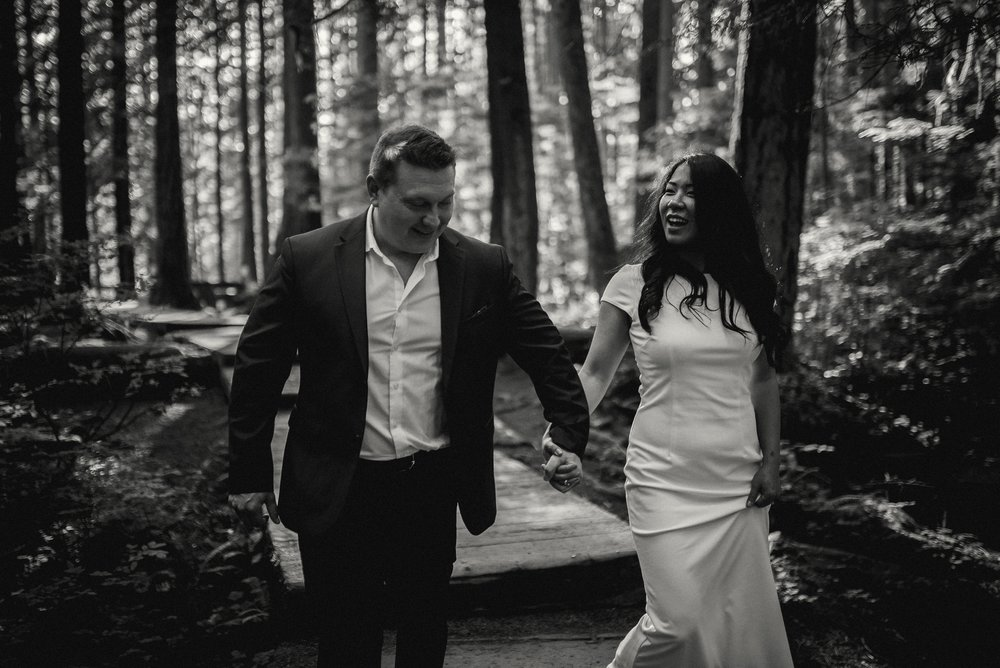 Wedding and elopement photographer Vancouver