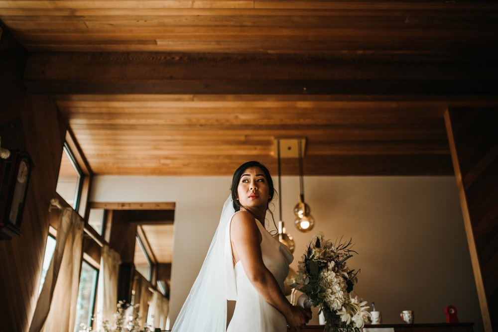 bride getting ready vancouver wedding photographer