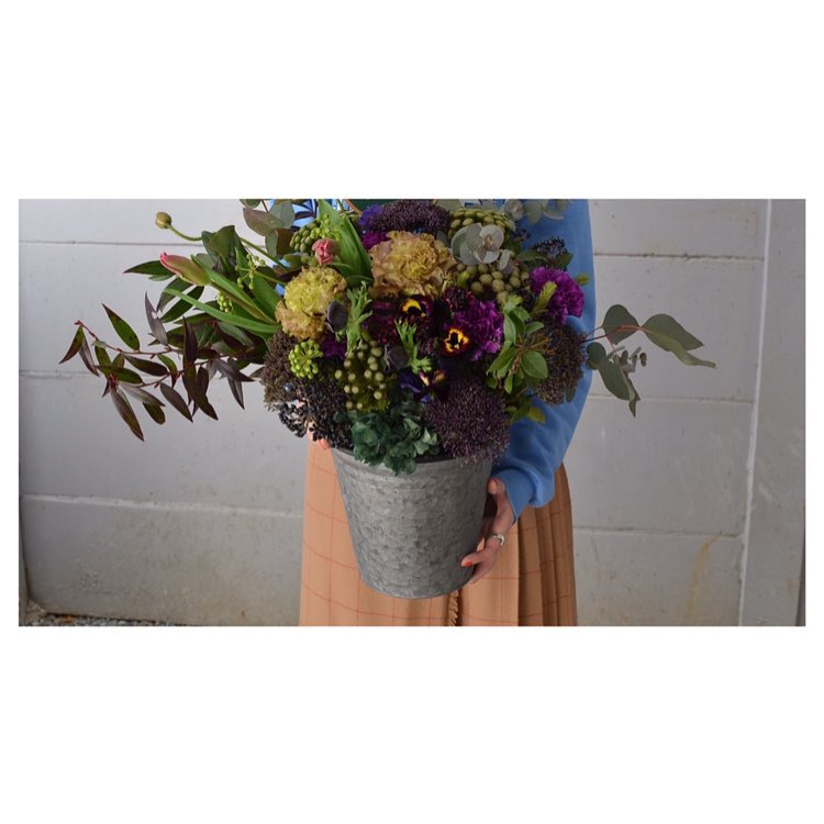 LIVEをするご友人さまへ 御祝いのお花。  #oriental #soil #wildplants
