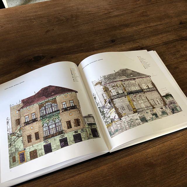 Our ongoing renovation project. Phase I complete: an extensive evaluation exercise and documentation process all compiled in a book. A record of the history of the house before our intervention.  #agrandbeiruthome #mariagroup #mariagrouparchitects #renovation #recordinghistory #lebanesehouses #beiruthomes #urbanhome