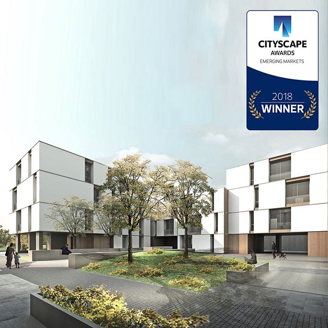 Excited to share the news: the Wadi Qortuba project has received the Cityscape Global Awards 2018 in the Residential, Low to Medium Rise Category for built projects! Located in KSA, the project is a residential development launched by Solidere International. Our scope included the design of 215 villas, townhouses and semi-detached villas, as well as 3 buildings with 95 apartment units. Our design intent was focused on addressing the individuality of each residential unit within its immediate context.  The master plan developed by Solidere International also involved fellow architects @nabilgholamarchitects,  @leftarchitects and Bödecker landscaping architects. Great collaborations! @cityscape__shows #cityscapeawards  #solidereinternational  #mariagroup #mariagrouparchitects
