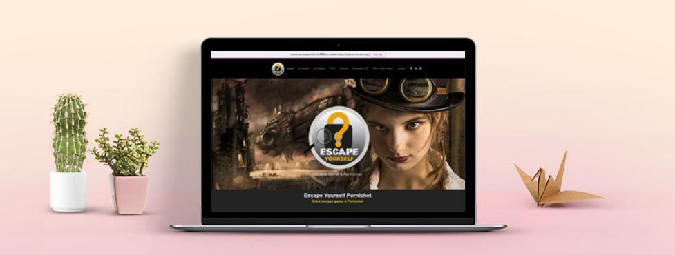 Escape Yourself Pornichet | Nouveau site Internet | www.escapeyourselfpornichet.com