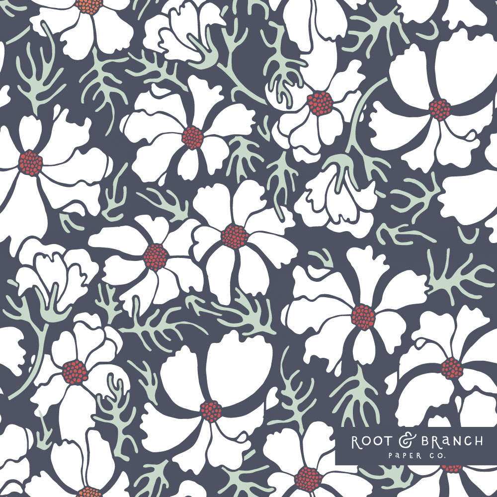 Christmas Pattern | Surface pattern design by Jessie Tyree Jenness