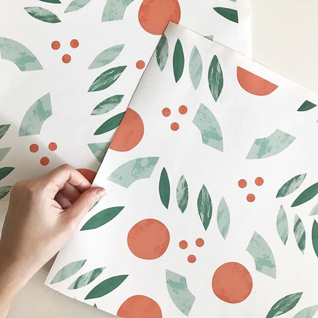 "Wallpapers are officially back in the shop! 🥰 They are cheaper than before, and now we are offering these 12"" x 12"" sample sheets for only $5– so you don't have to drop a lot of cash on something you haven't seen and and felt for yourself. These new wallpapers are also peel and stick, meaning they are fully removable which is a huge perk if you're a renter (like me!) or if you like to change up your space constantly (also me!) 🍄 Which pattern is your favorite?"