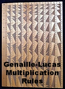 Genaille-Lucas Multiplication Rules