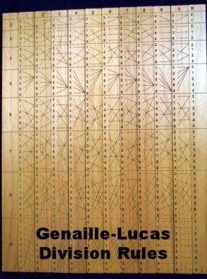 Genaille-Lucas Division Rules