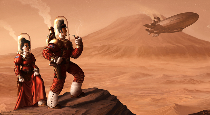 Space 1889 - Olympus Mons - STEMpunk