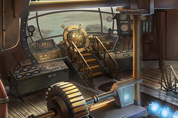 Bridge of the Void Explorer - STEMpunk
