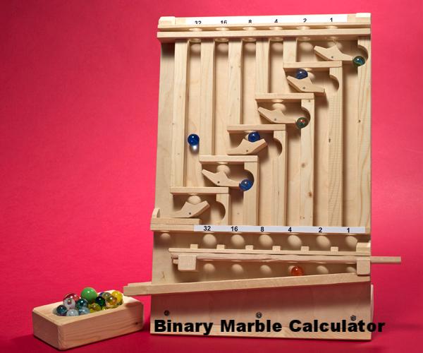 Binary Marble Calculator - STEMpunk