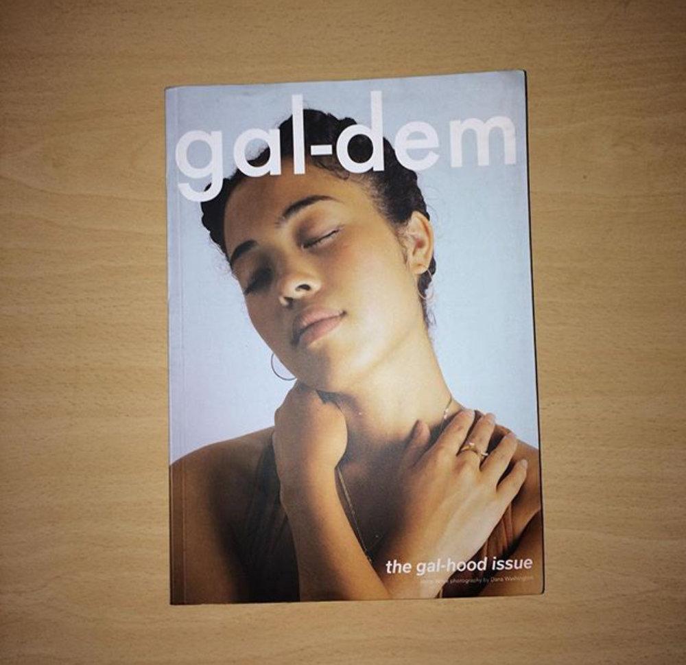 gal-dem  julkaisi ensimmäisen printtilehtensä vuoden 2016 lopussa