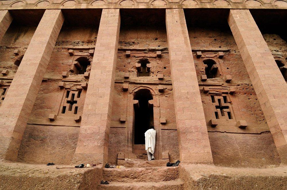 Lalibelan kirkko.