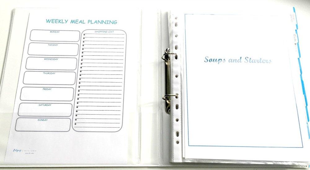 Recipe folder