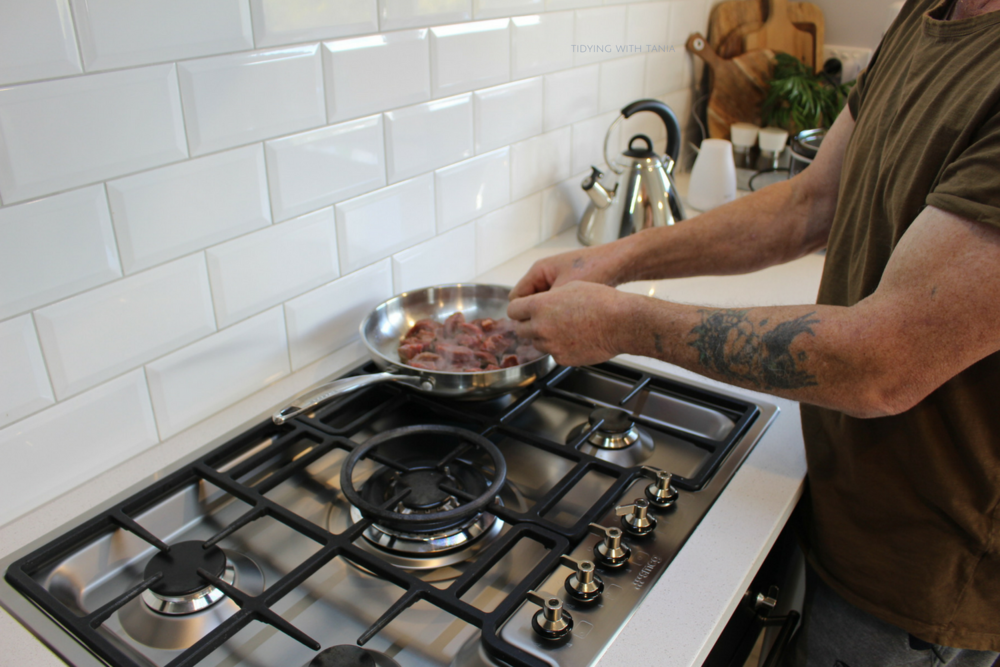 "pete -slow cooking prep / ""cooking with gas"""