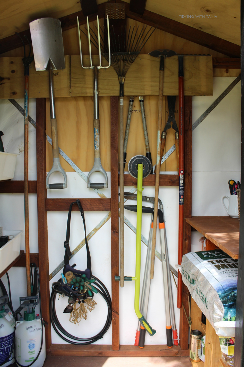 Garden Shed inside tools on the back wall.png