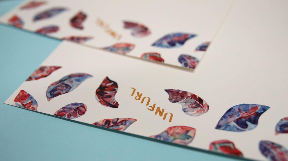 Unfurl letterhead