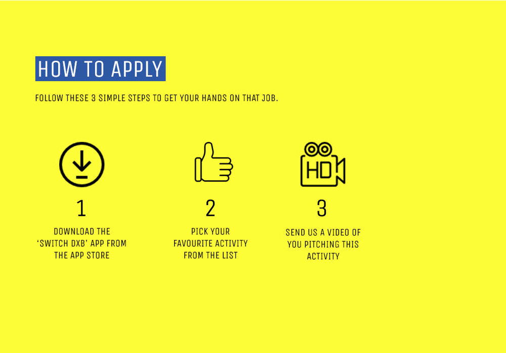 APPLY BELOW   - ONCE YOU'VE GOT THE PERFECT PITCH, SUBMIT YOUR APPLICATION