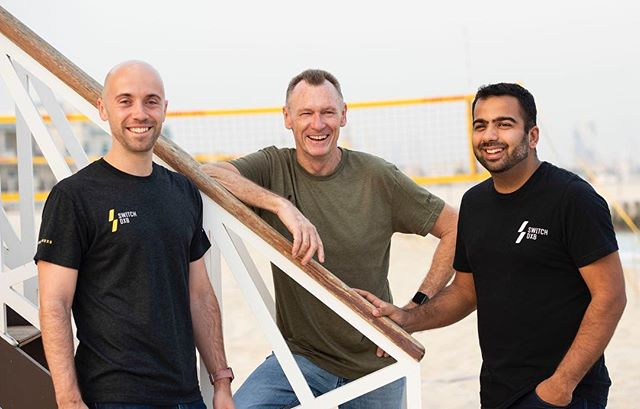 Today is World Entrepreneurs' Day! The perfect chance to introduce you to our co-founders ☝🏽 ⠀⠀⠀⠀⠀⠀⠀⠀⠀⠀⠀⠀⠀⠀⠀⠀⠀ Meet Gary, Graeme & Dilesh - the guys that made Switch happen!! ⠀⠀⠀⠀⠀⠀⠀⠀⠀⠀⠀⠀⠀⠀⠀⠀⠀ ⠀⠀⠀⠀⠀⠀⠀⠀⠀⠀⠀⠀⠀⠀⠀⠀⠀ 📷: @paulaikenphotography ⠀⠀⠀⠀⠀⠀⠀⠀⠀⠀⠀⠀⠀⠀⠀⠀⠀ ⠀⠀⠀⠀⠀⠀⠀⠀⠀⠀⠀⠀⠀⠀⠀⠀⠀ #LiveBetterDXB #mydubai #dubai #UAE #health #fitness #wellbeing #dubailife #worldentrepreneursday #entrepreneur #entrepreneurlife #startups #techstartup #app #teamswitch #teamswitchdxb #kitebeach #kitebeachdubai #dubaistartups #dubaistartup #dubaistartupstories @gb_and_co @graeme.perry @dbhimjiani @dubaistartup