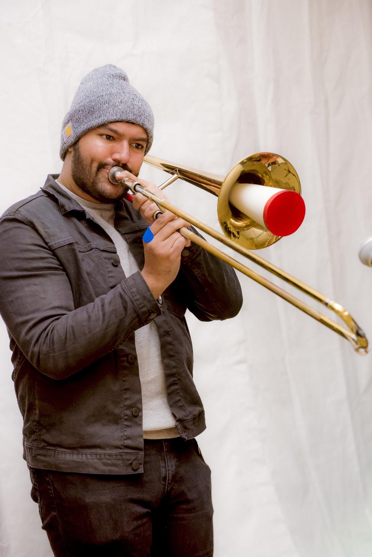 Gurtej Singh, Trombonist (Charity Ensemble)