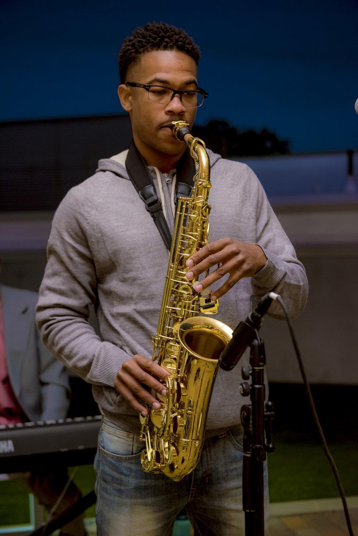 [Legacy Artist 2016-2017] Marcus Bates, Saxophonist