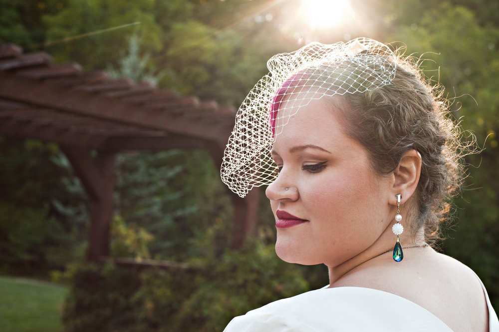 Peacock Wedding - Vintage Inspired - Bridal Jewelry