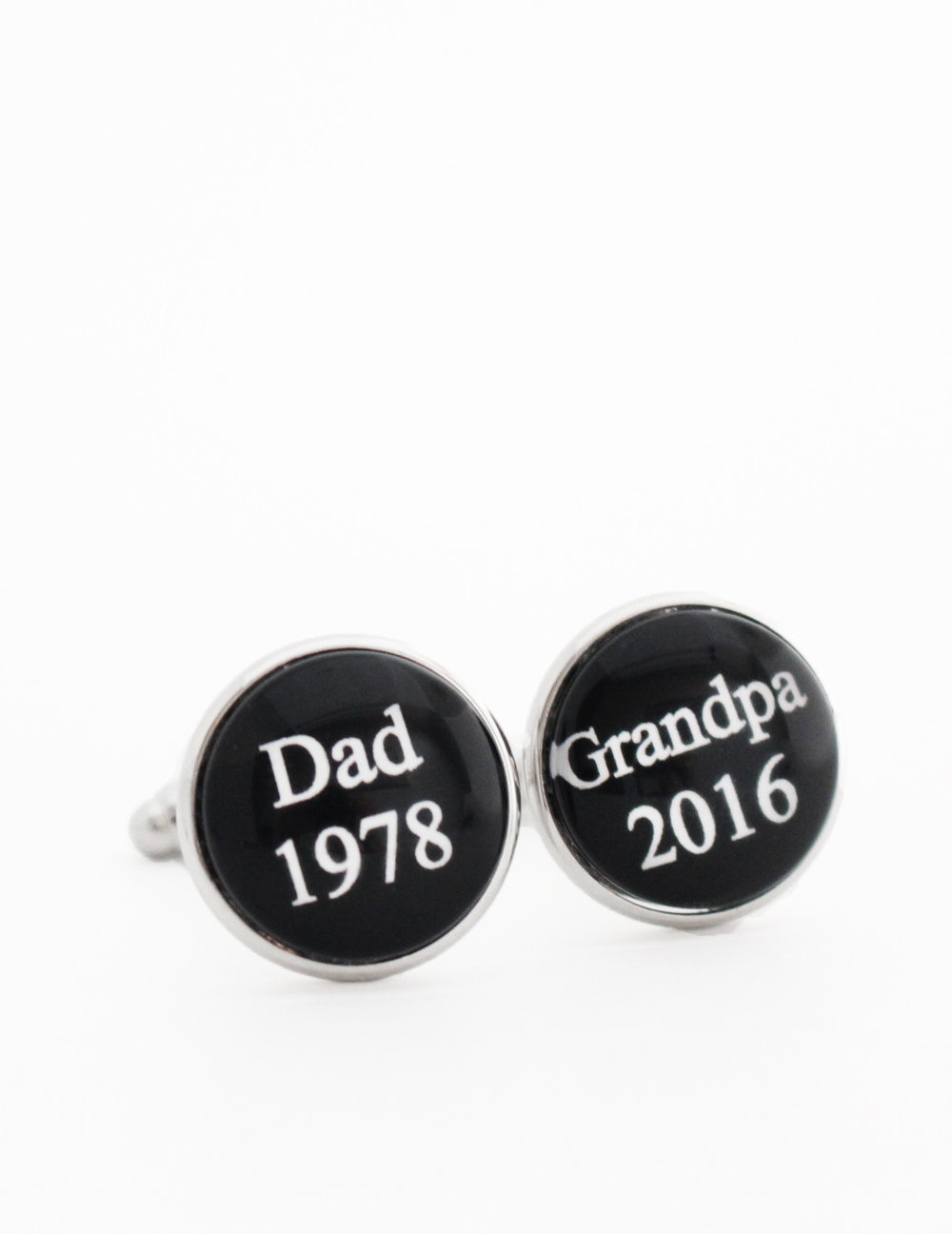 Pregnancy Reveal to Grandparents Cufflinks.jpg
