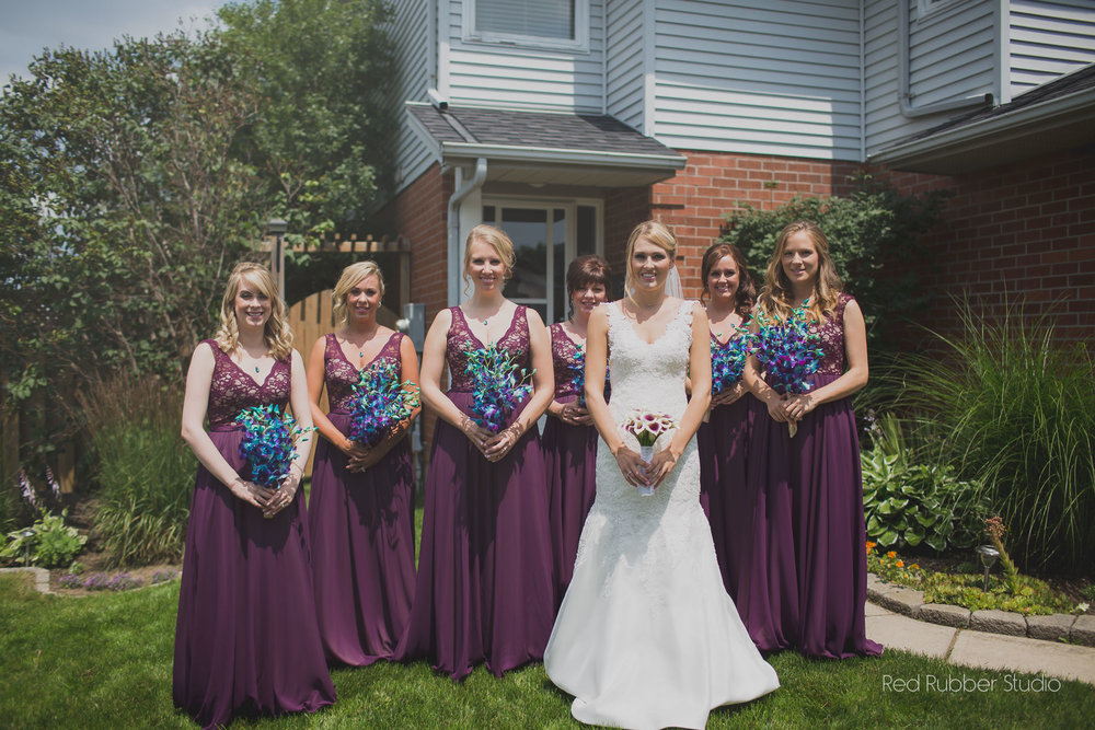Peacock Wedding - Peacock Bridesmaid Gifts