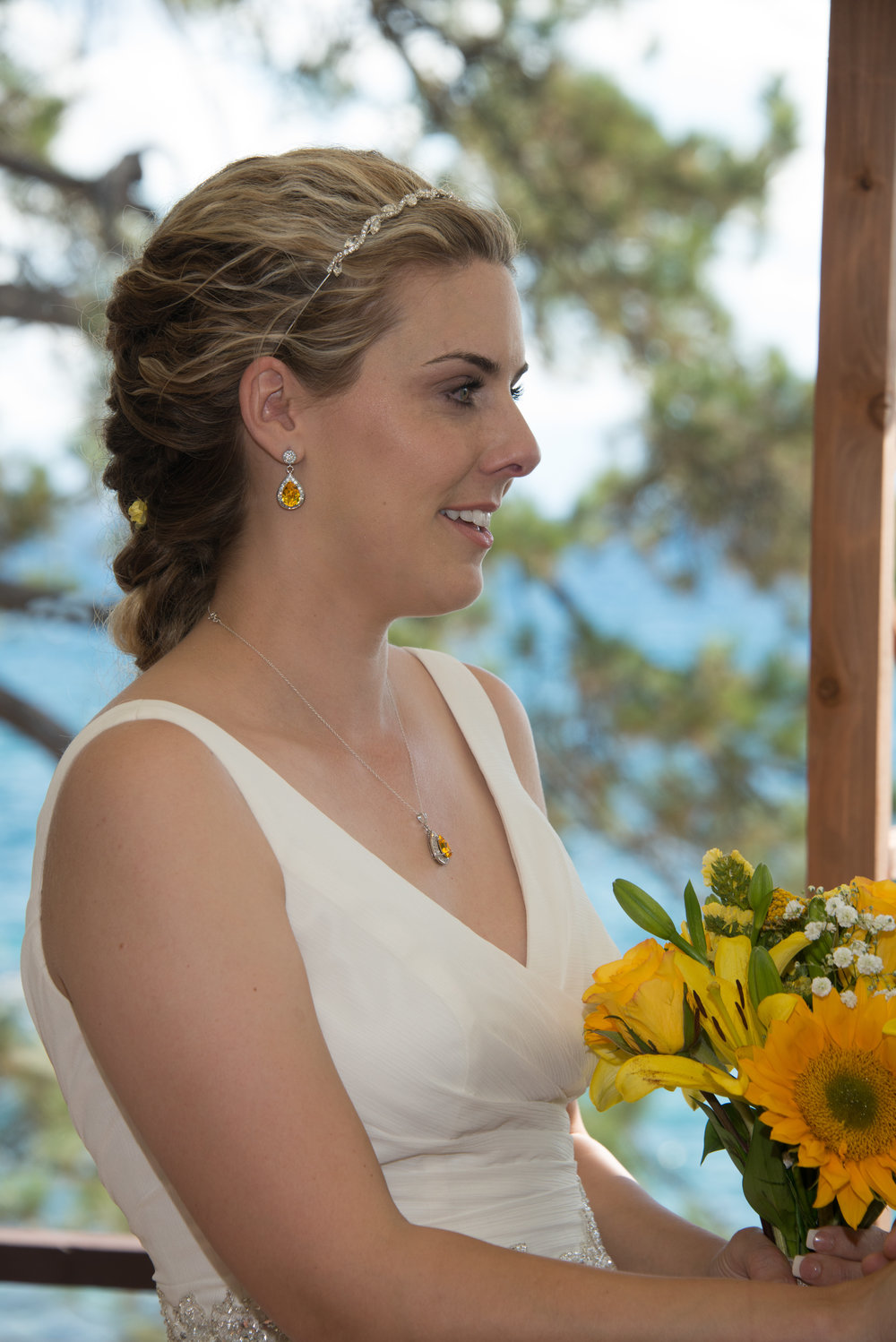 Yellow Wedding - Bridal Jewelry Set