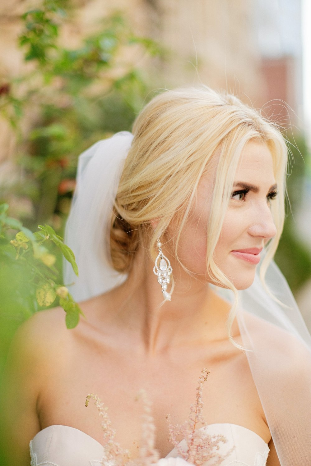 Bridal Earrings - Chandelier Earrings