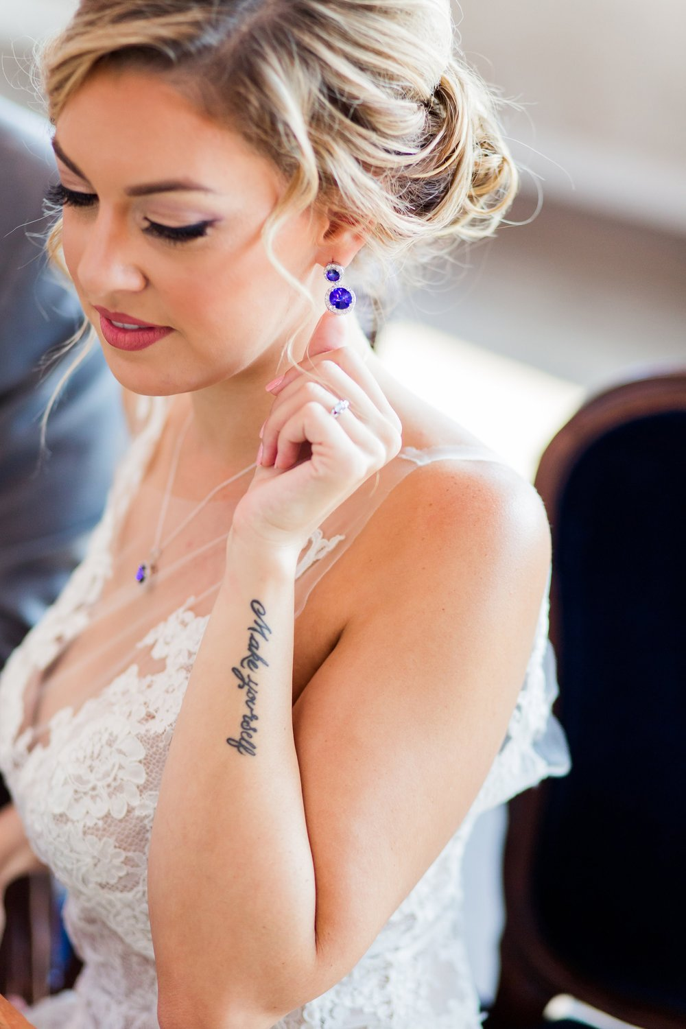 Jewel Toned Wedding - Bridal Jewelry