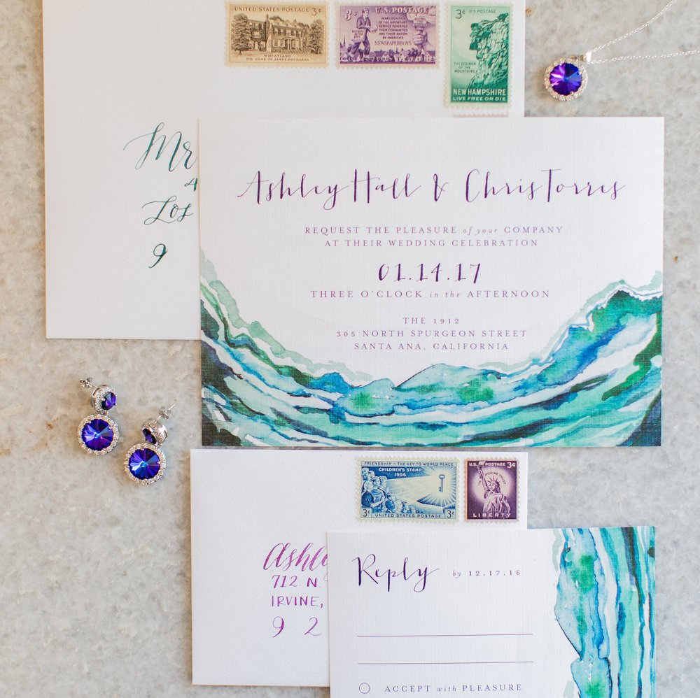 Wedding Invitations - Bridal Jewelry
