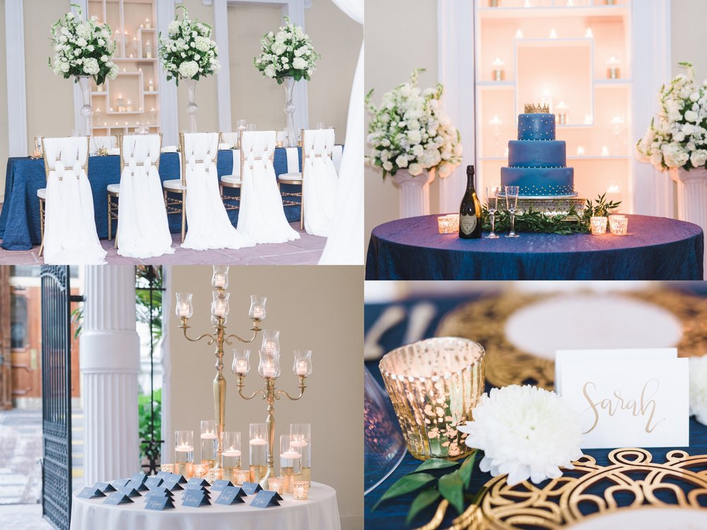 Cobalt and Gold Wedding - Wedding Inspiration