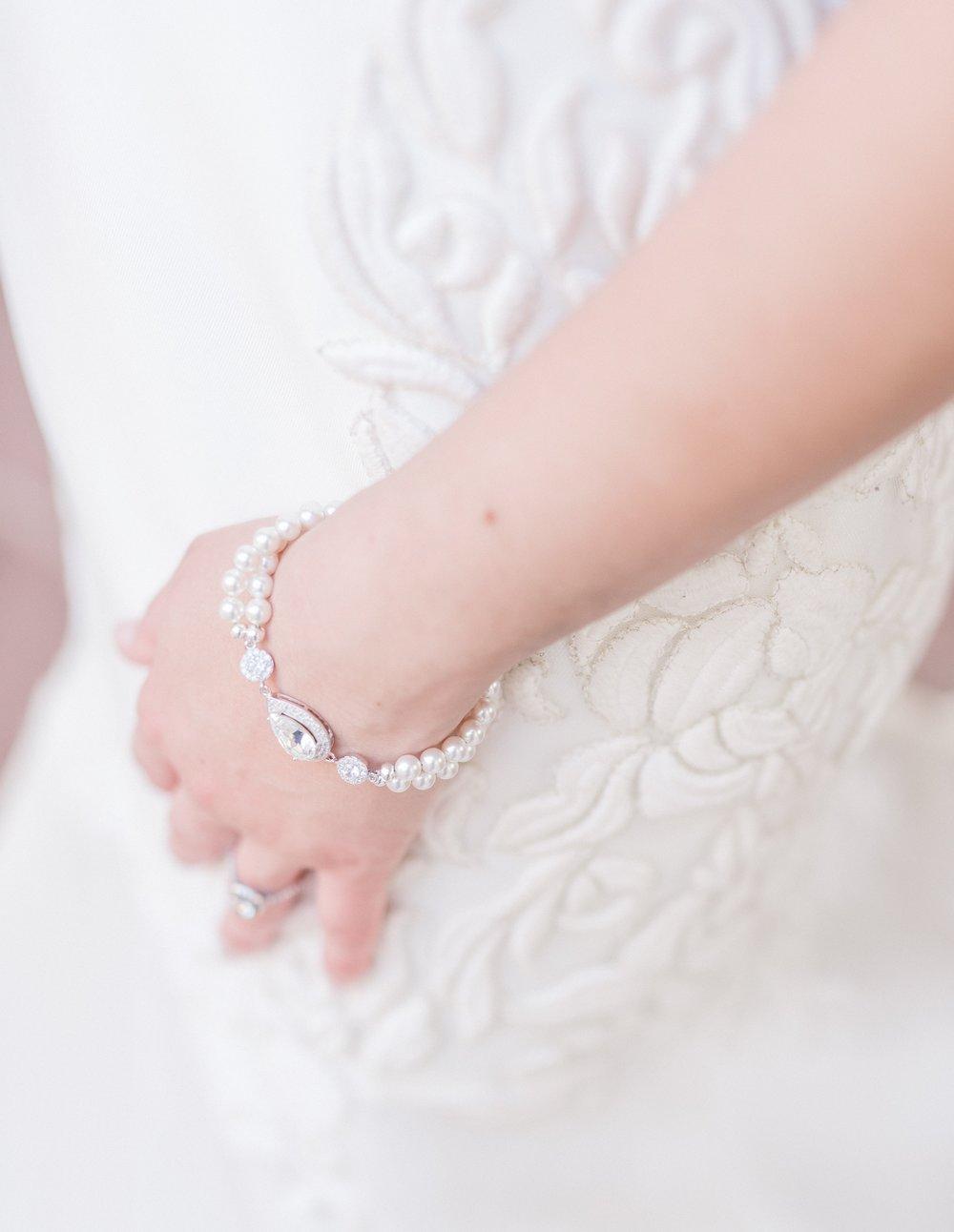 Pearl Bracelet - Bridal Bracelet