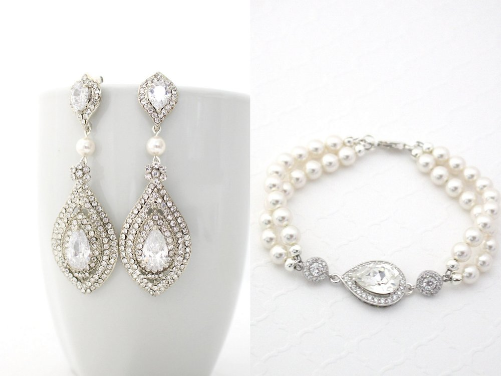 Pearl Bridal Jewelry - Luxury Weddiong Jewelry