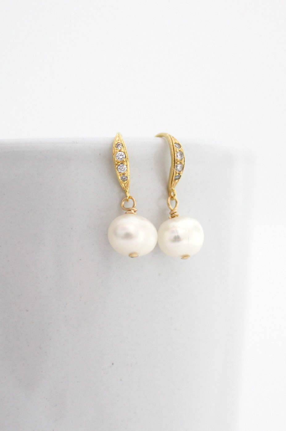 Pearl Earrings - Bridal Earrings